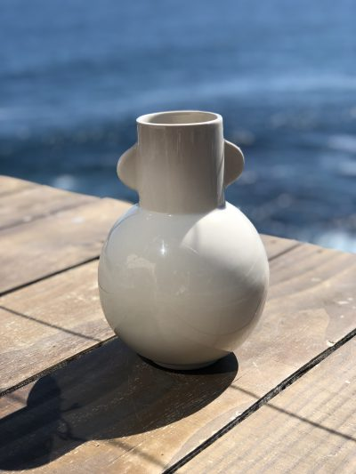 florero cerámica