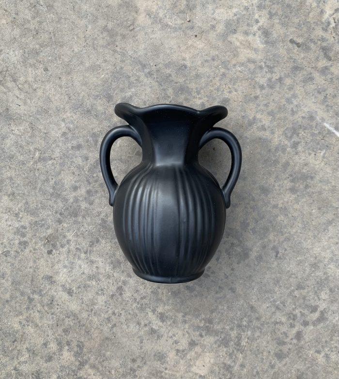florero negro